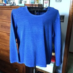 Super Blue Top by the great brand FOCUS. NWOT